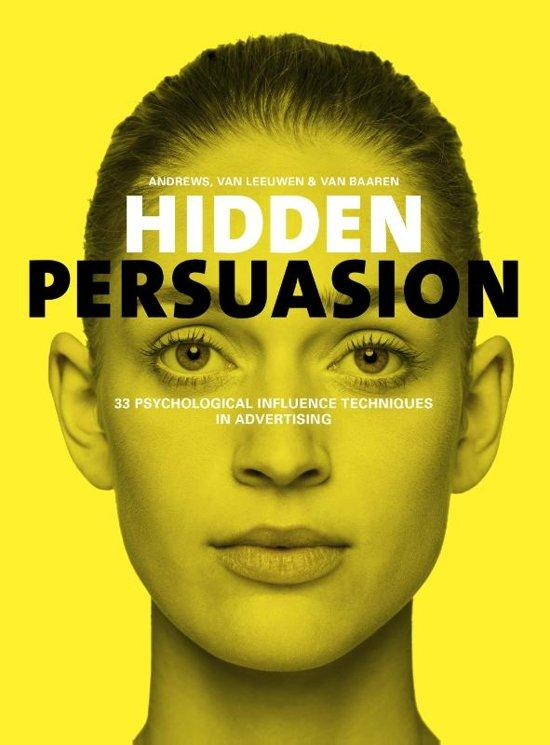 hidden persuasion marketing boek