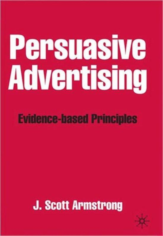 persuasive advertising scott armstrong neuromarketing